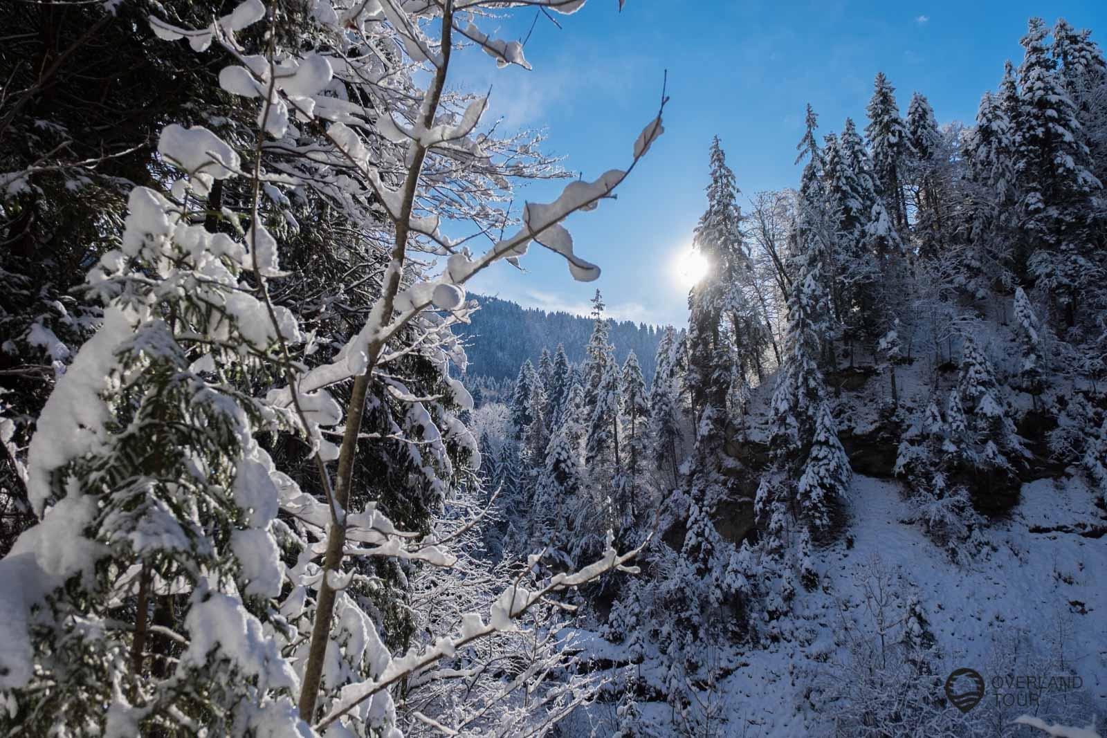 Auszeit Haubers Alpenresort Oberstaufen Winterwonderland Allgäu