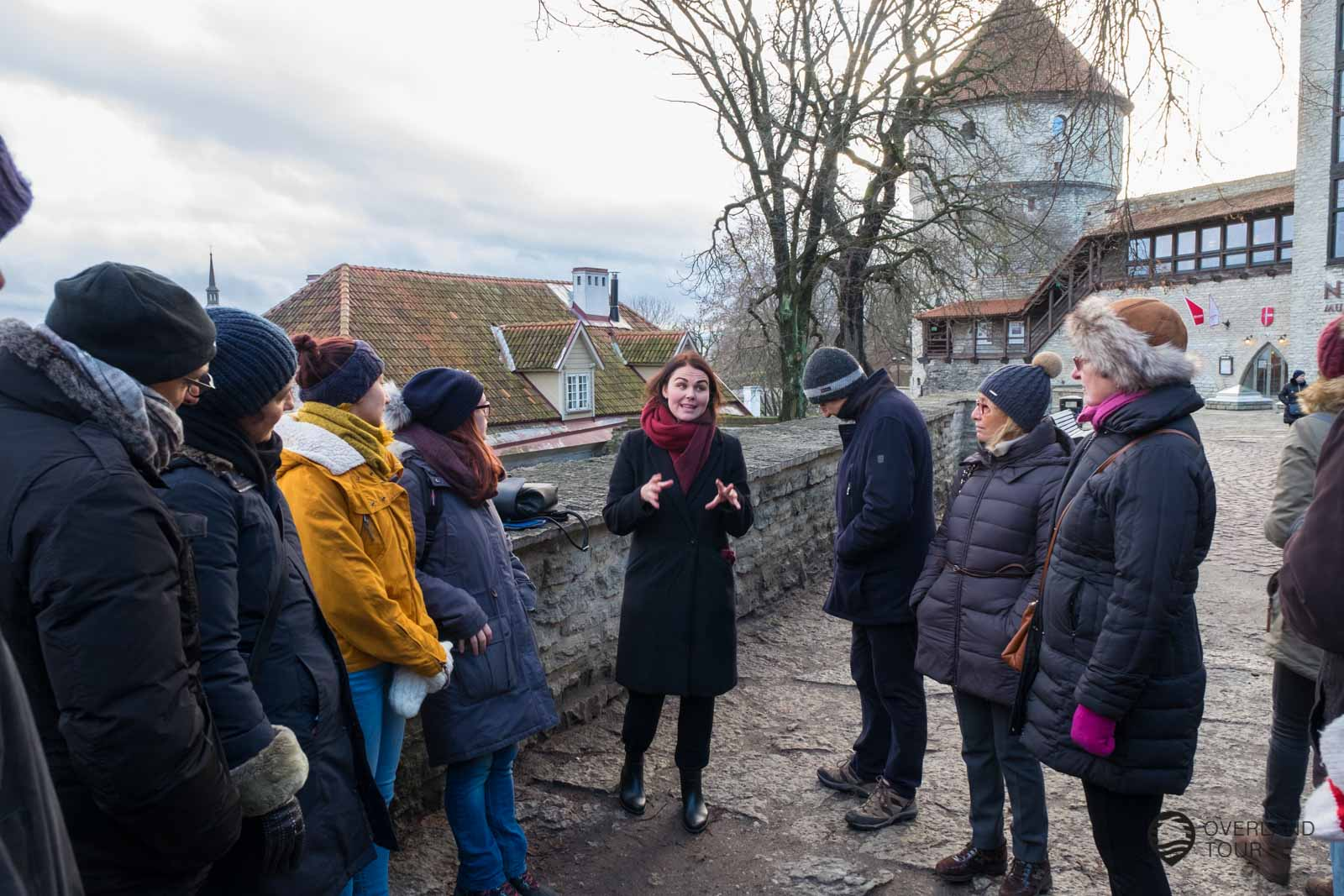 Auf der Free Tallinn Tour beim Kiek in de Kök Museum