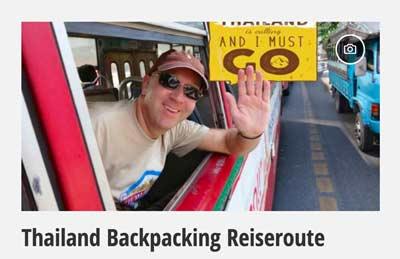 Mehr zur Thailand Backpacker Reiseroute