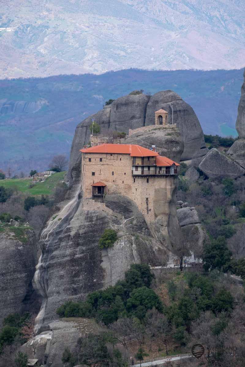 Das Kloster Agios Nikolaos Anapavsas – Meteora