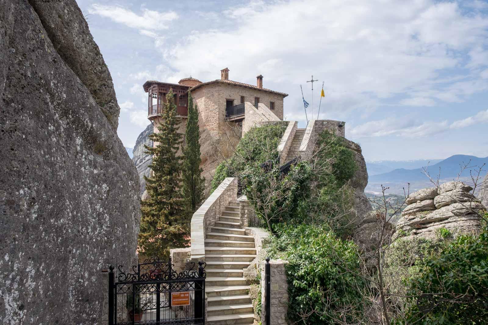 Kloster Saint Barbara - Roussanou – Meteora
