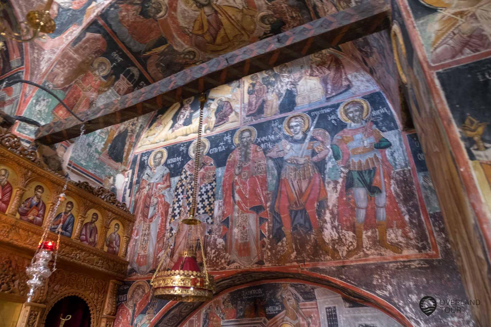 Kloster Agia Triada – Meteora