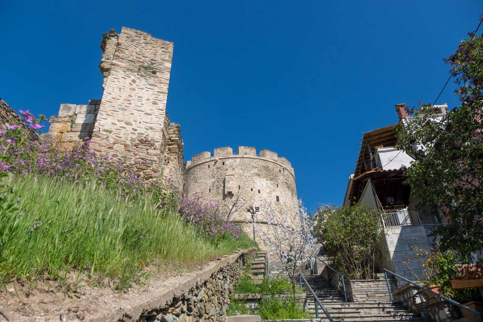 Auf dem Trigoniou Tower