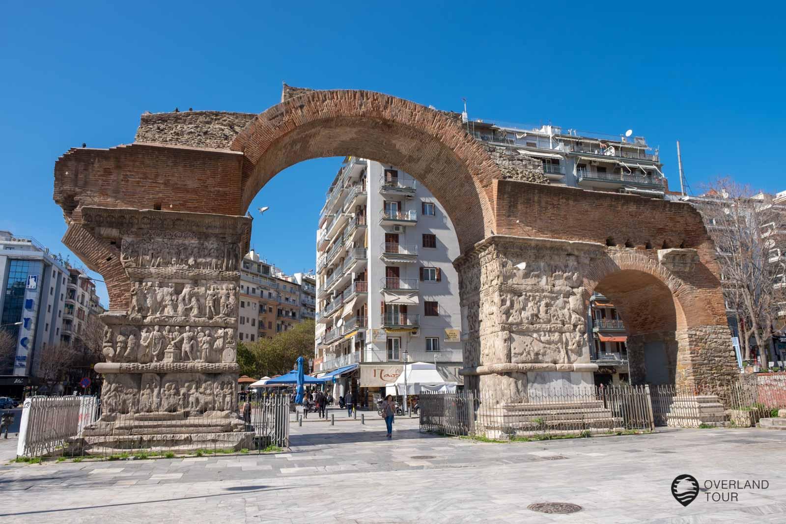 Der Galeriusbogen das Wahrzeichen von Thessaloniki