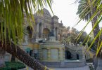 """Der wunderschöne Brunnen """"Terraza Neptuno"""" wurde 1903 fertiggestellt und verziert seit dem den Haupteingang"""