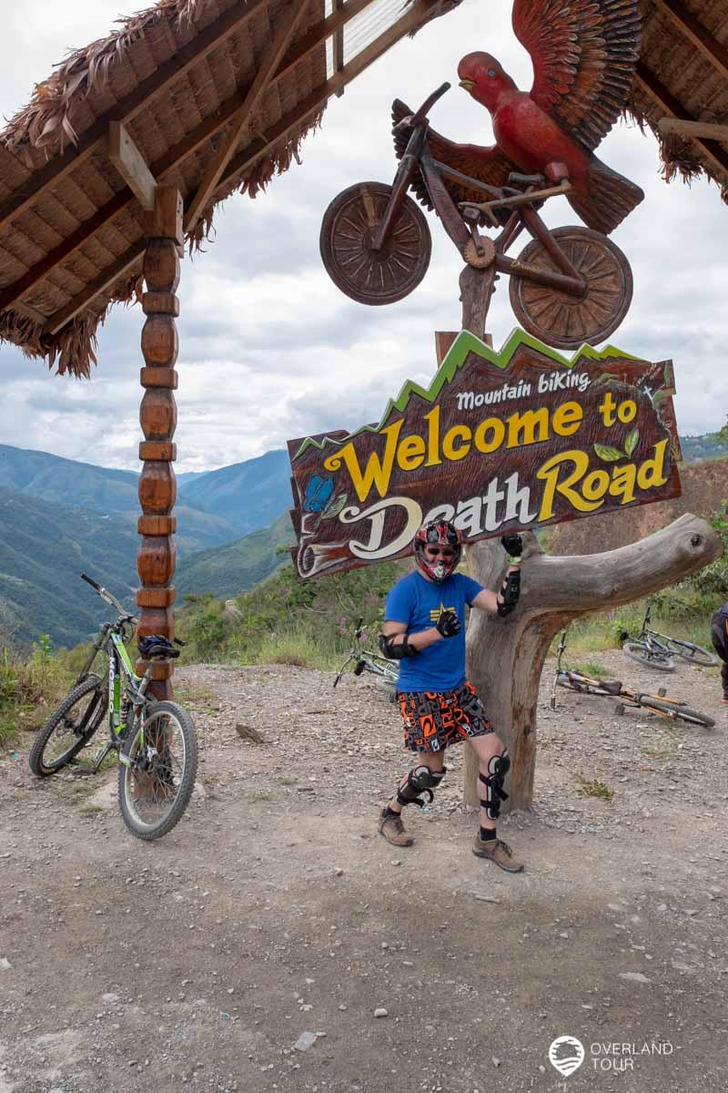 Camino de la Muerte bei La Paz