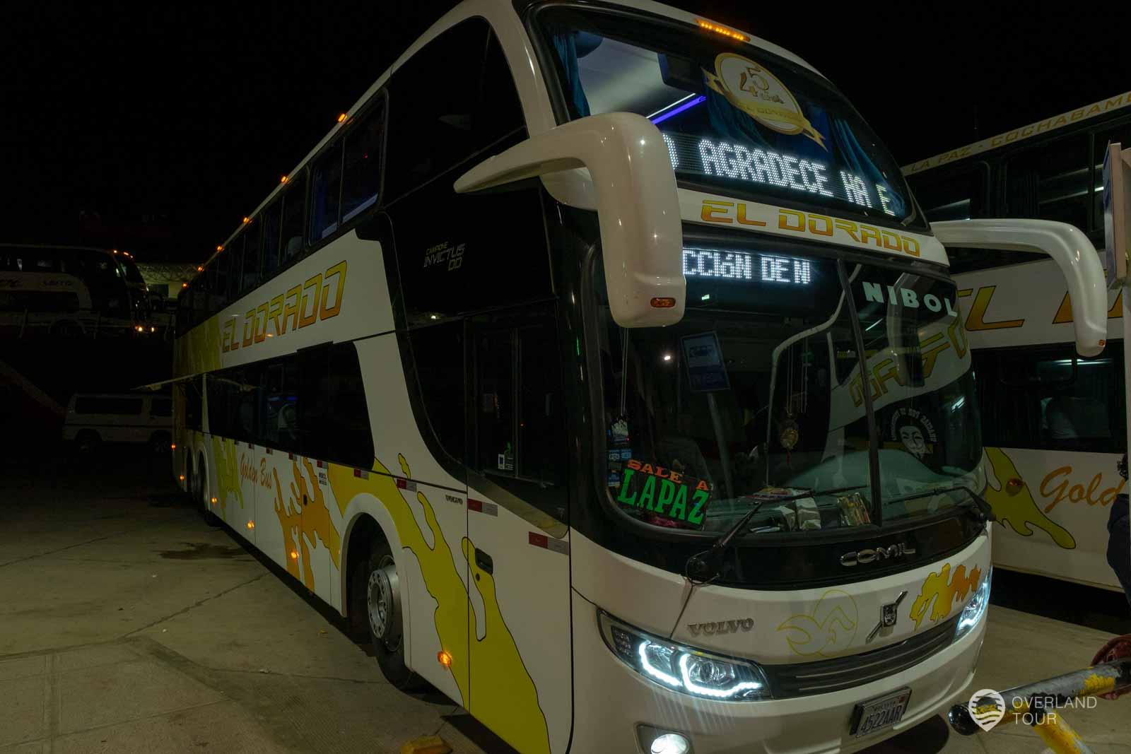 Mein Nachtbus nach La Paz