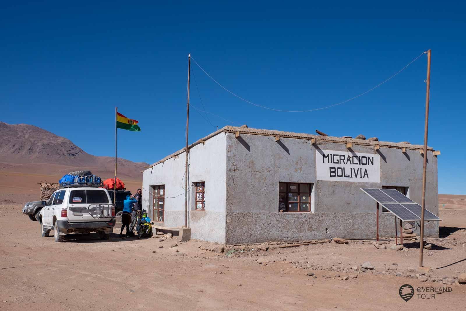 Die Grenzstation von Bolivien