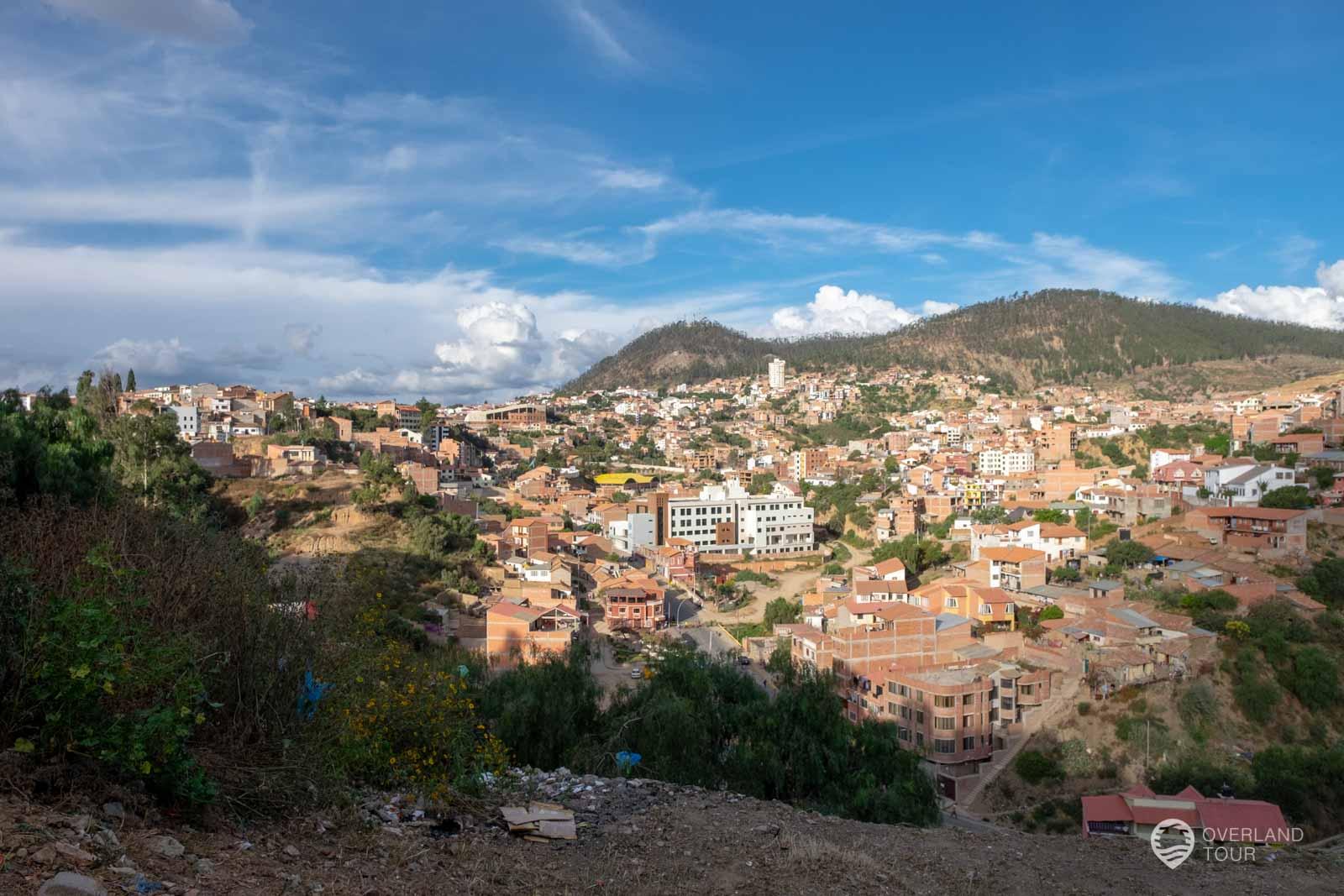 Sucre – Dank Streik keine Sehenswürdigkeiten gesehen