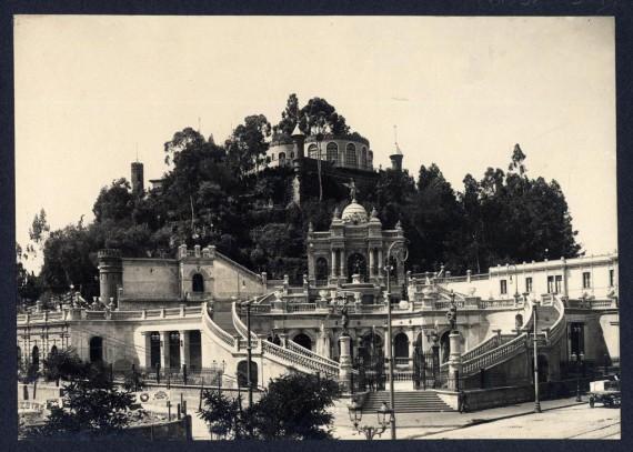 Quelle des Bildes: Chile 1906. Santiago, 1906. Sammlungen Nationalbibliothek von Chile, anonym. www.archivovisual.cl