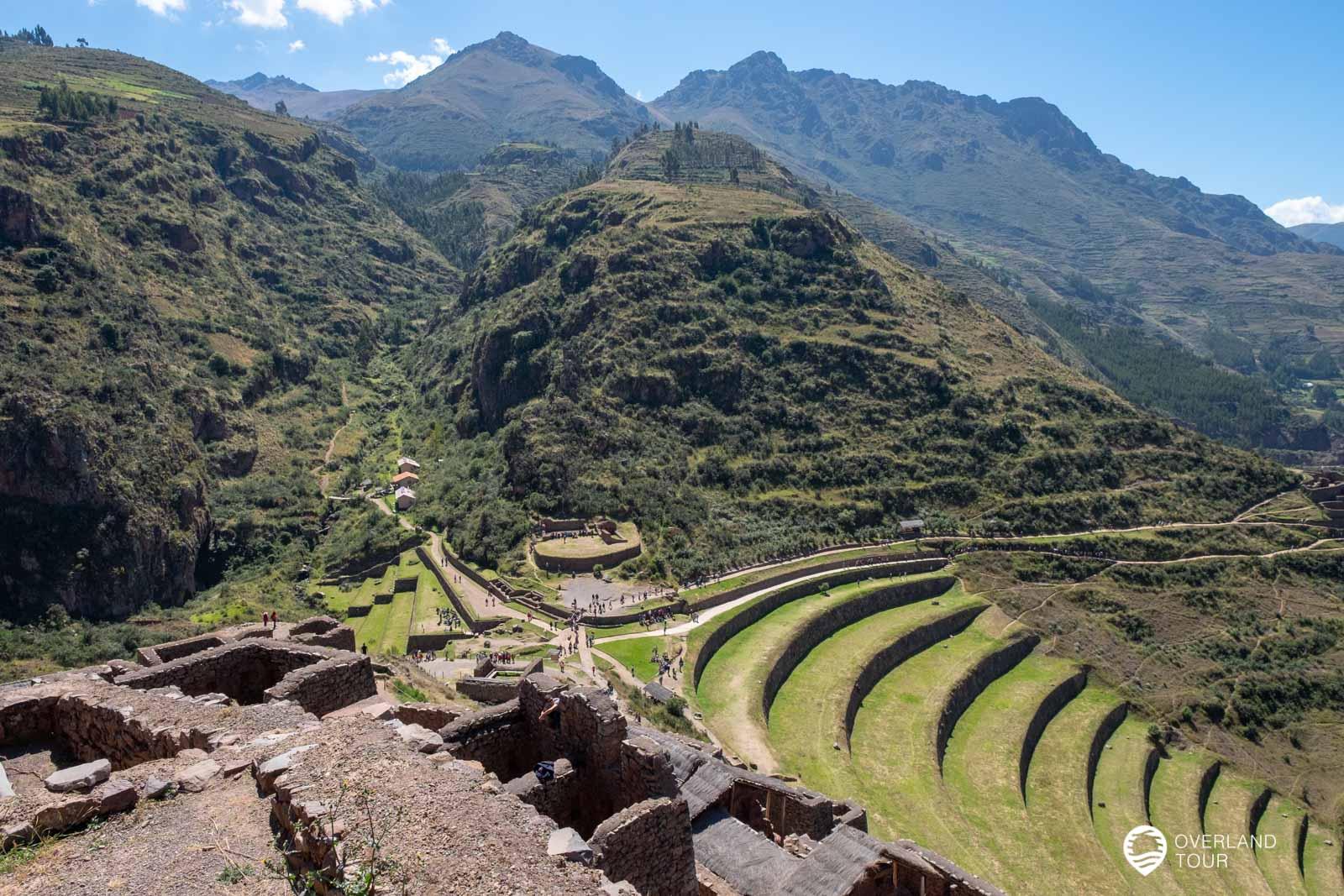 Die Inka Ruine Pisac
