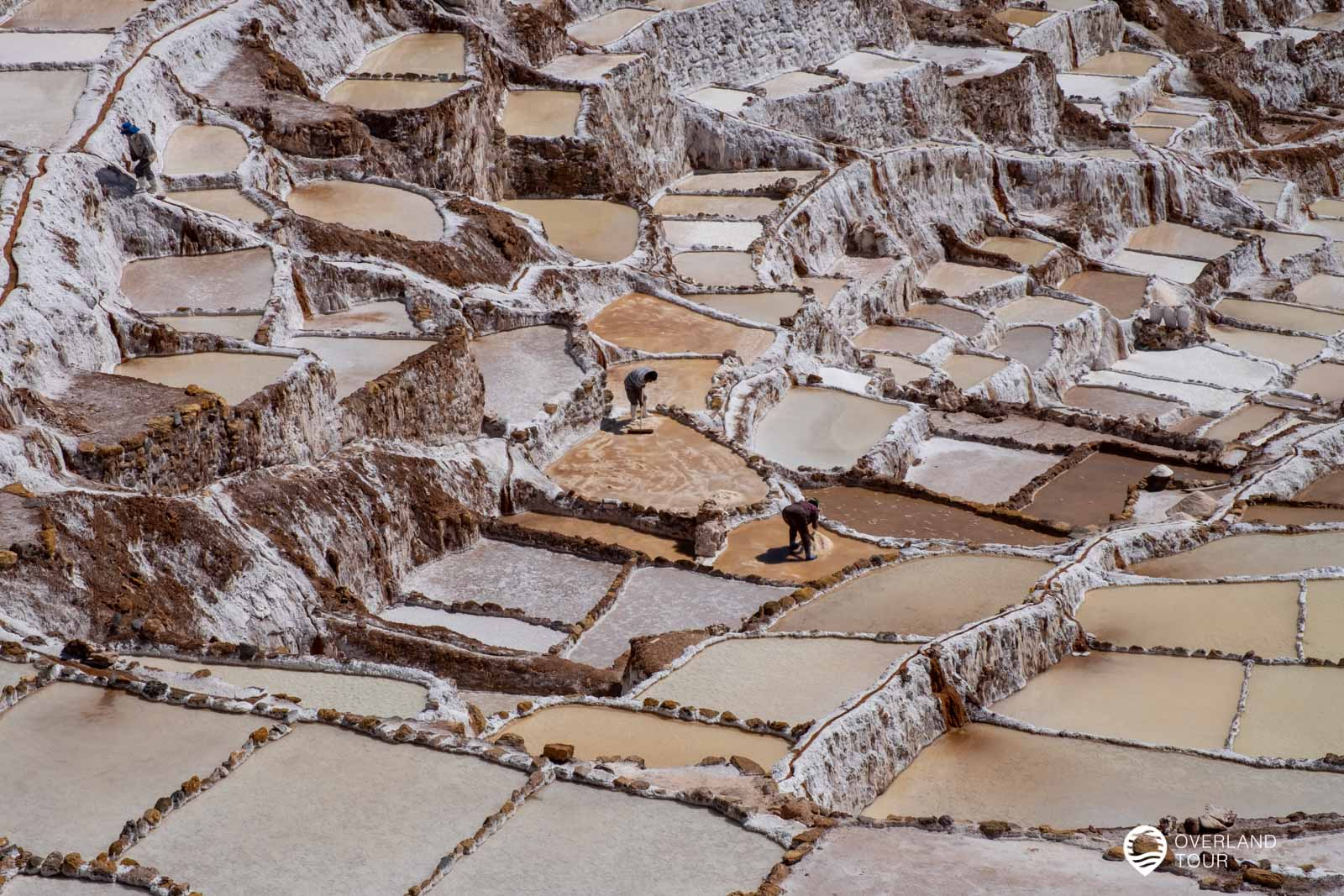 Die Salzterrassen von Maras