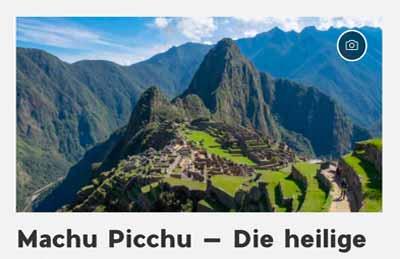 Mehr zu deinem Machu Picchu Besuch
