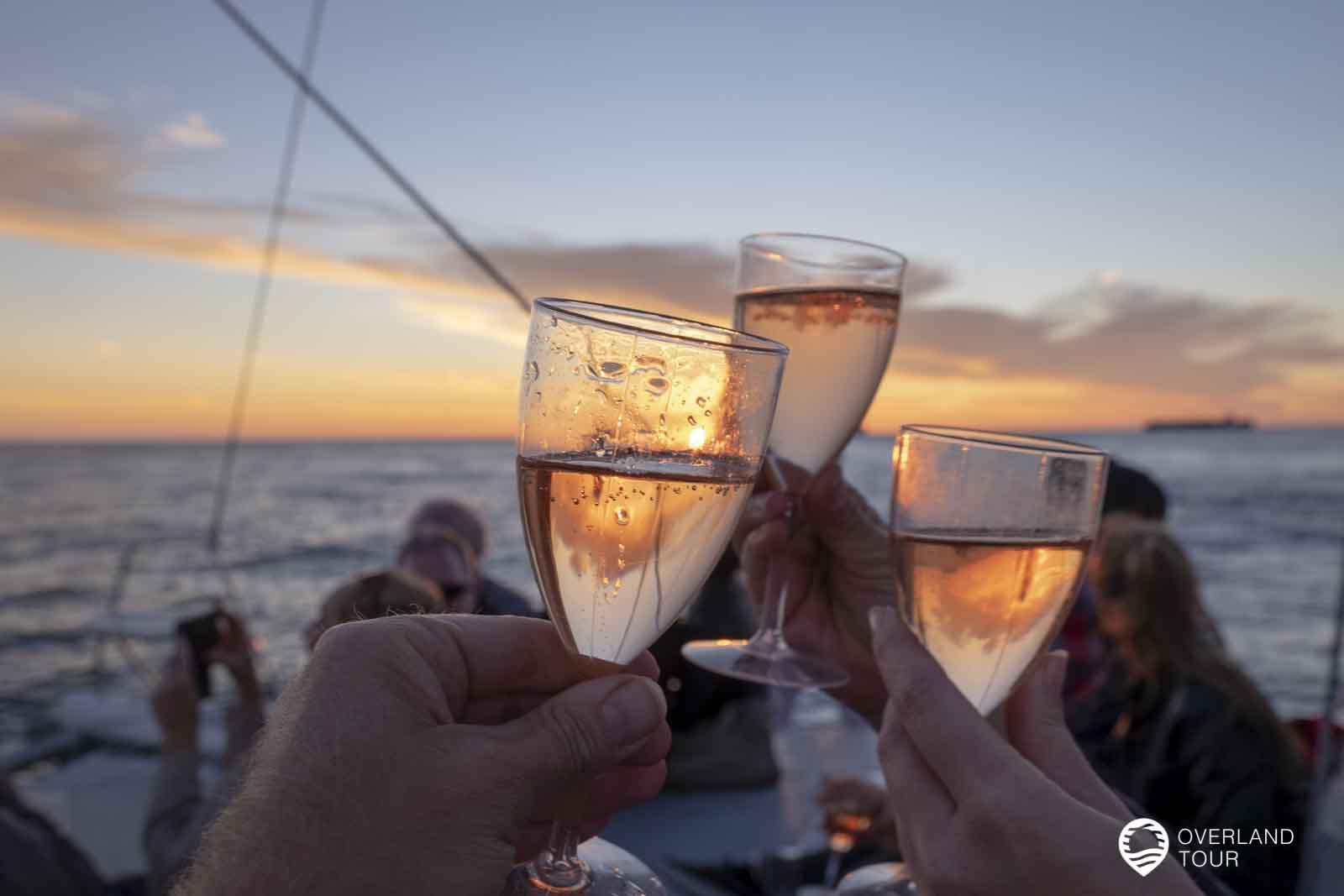 Kapstadt Sunset Cruise mit Champagner – Eine Bootstour zum Sonnenuntergang