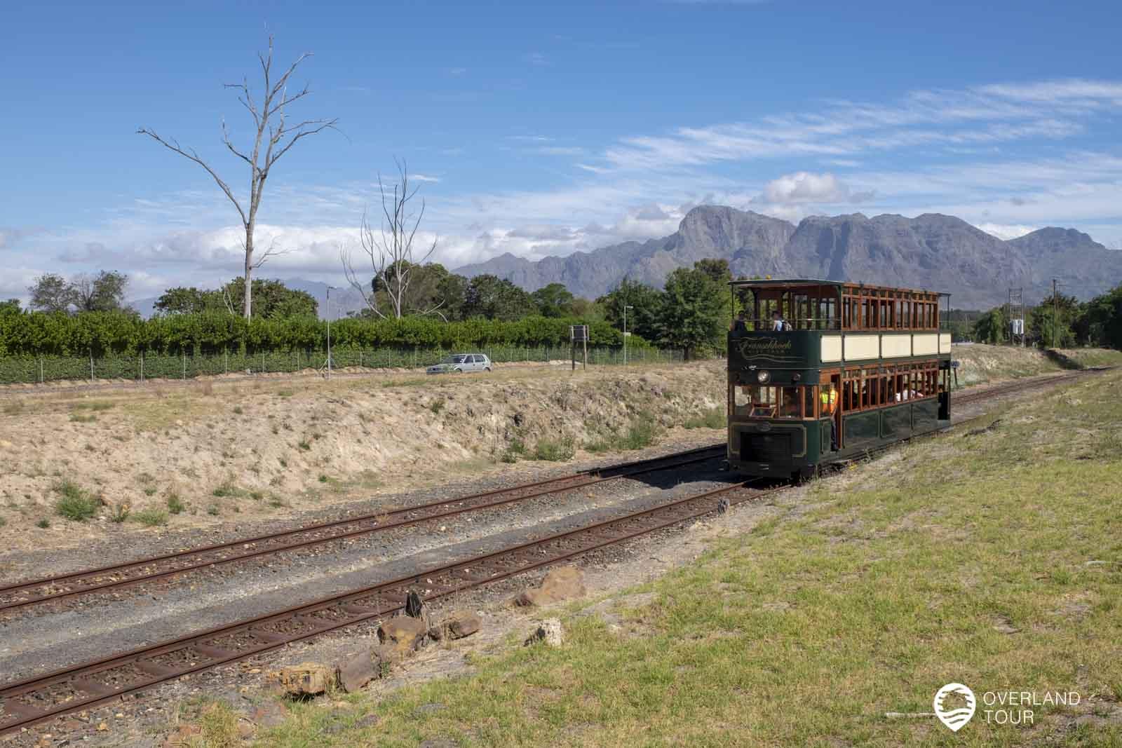 Die Franschhoek Wine Tram Tagestour von Kapstadt aus
