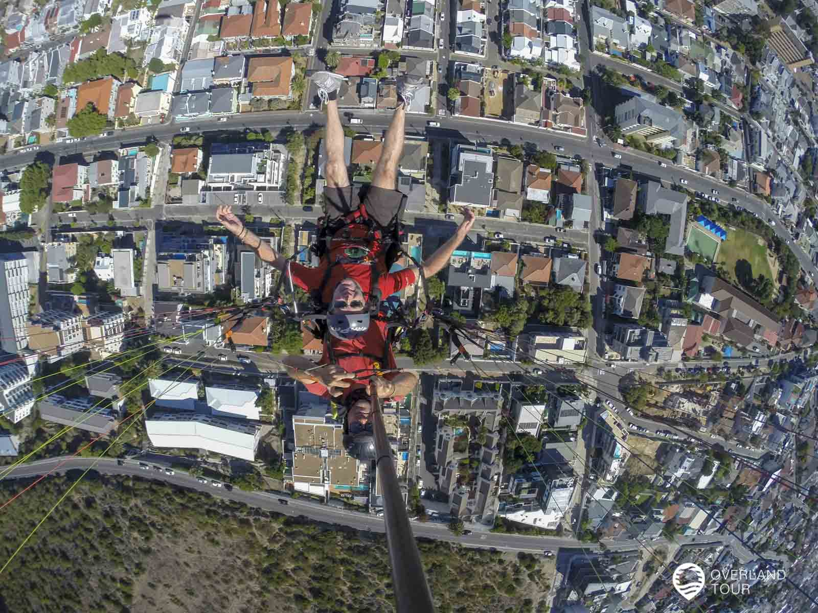 Paragliding über Kapstadt – Mit dem Gleitschirm vom Signal Hill