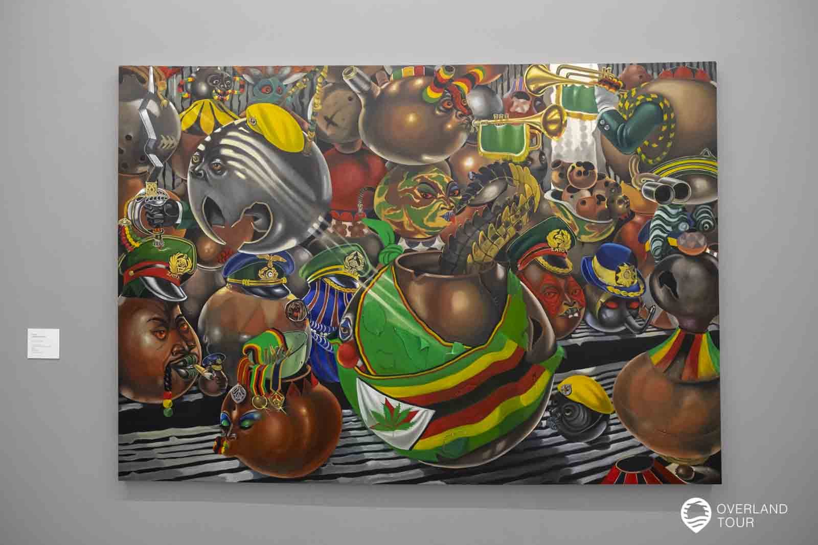Das ZEITS MOCCA - Museum of Contemporary Art Africa - in Kapstad