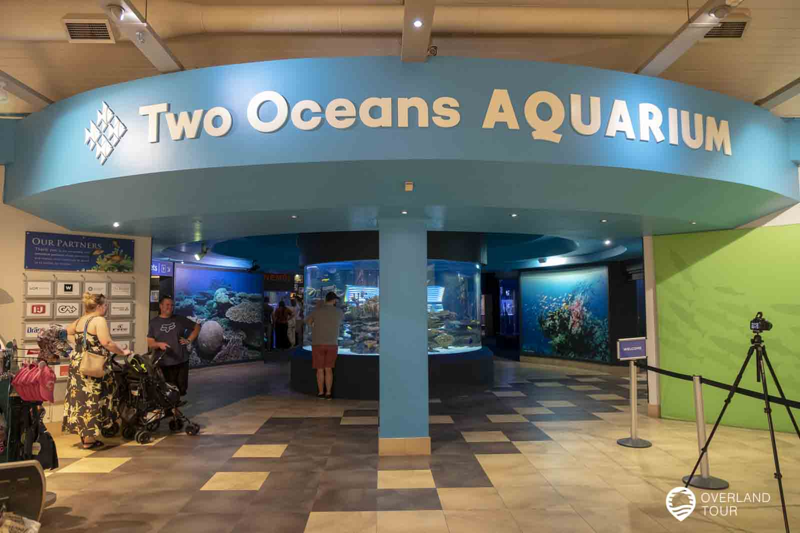 Das Two Oceans Aquarium in Kapstadt an der V&A Waterfront