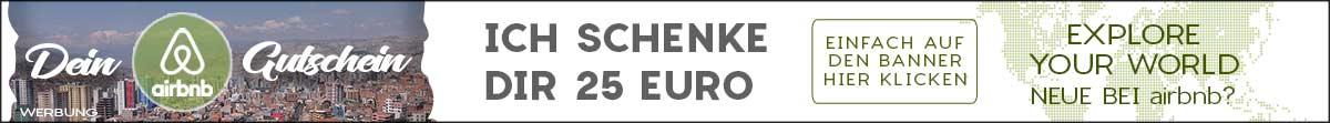 Hole dir jetzt dein €25 AirBnB Gutschein - Gilt für Neuanmeldungen