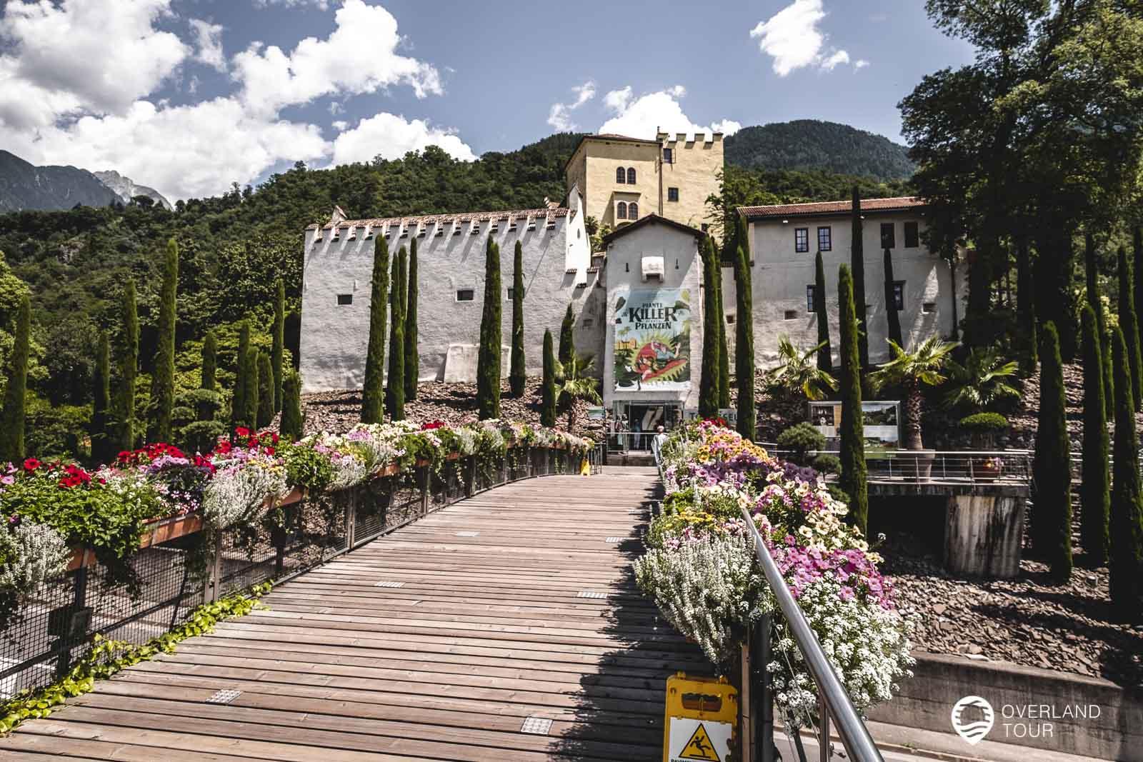 Die botanischen Gärten von Schloss Trauttmansdorff