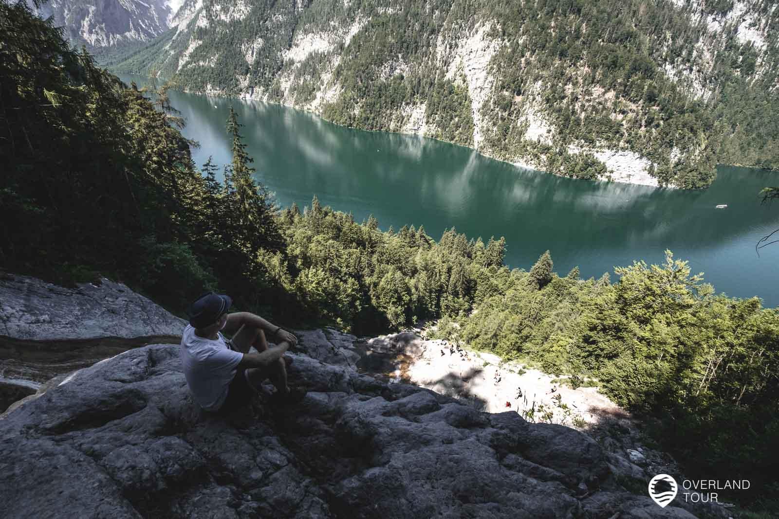 Wenn du falsch läufst, dann kommst du unterhal am Königsbach Wasserfall raus, aber die Aussicht ist auch klasse