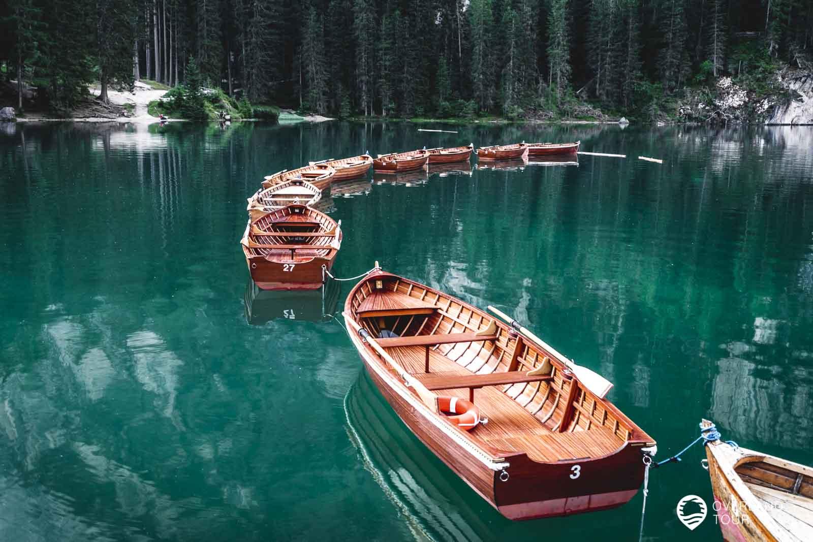 Einfach ein Traum dieser smaragdgrüne funkelnde Juwel - Der Pragser Wildsee
