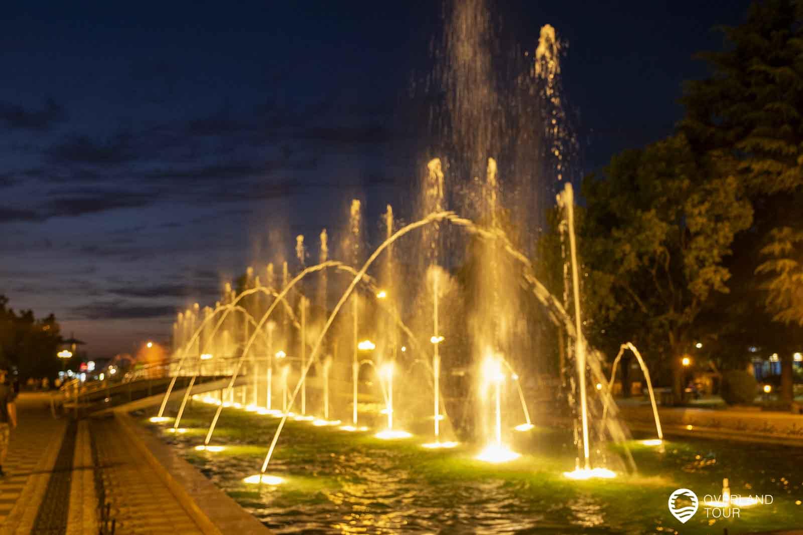 The Dancing Fountains am Batumi Boulevard