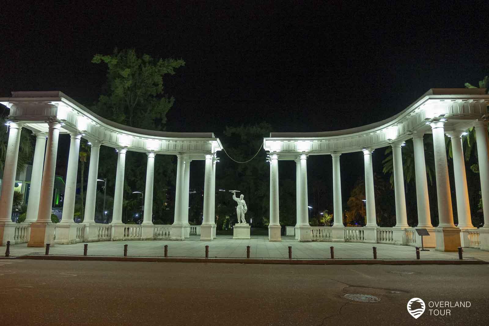 Das Fliegerdenkmal von Fadika Gogitidze