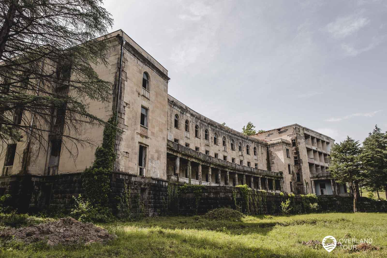 Tskaltubo - heute eine Stadt für Lost Places - Hier ein altes Sanatorium