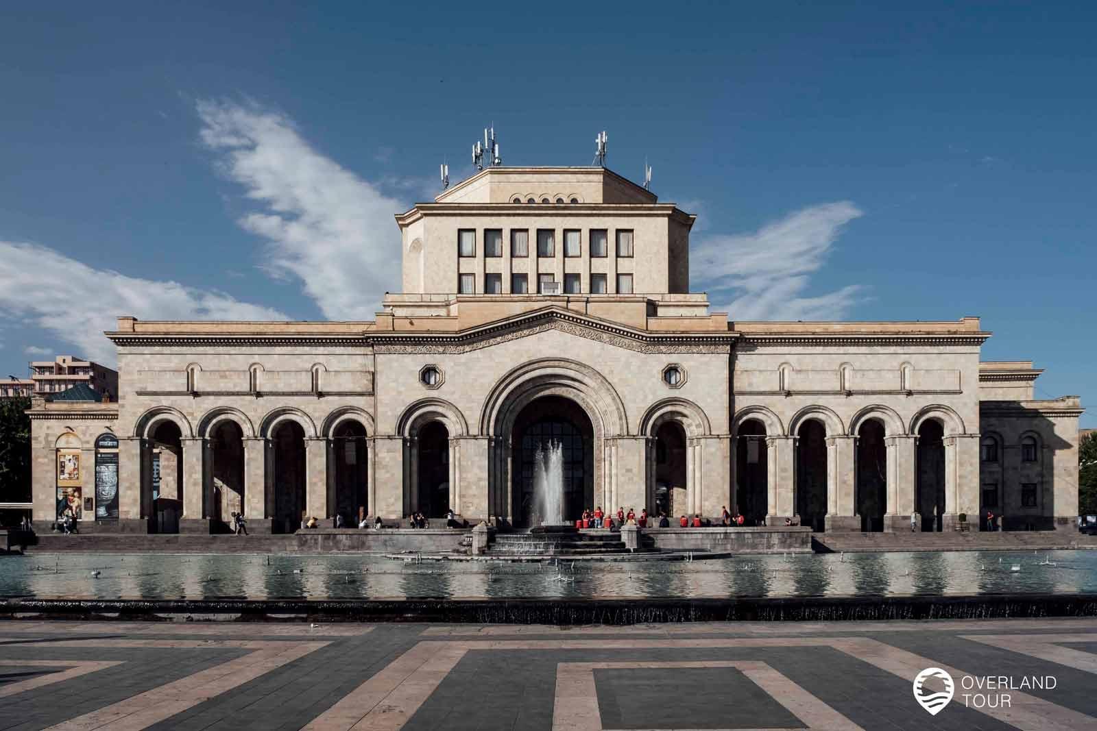 Sehenswürdigkeit Jerewan   Top 10 - Das History Museum of Armenia ist das Forschungszentrum für armenische Geschichte und Kultur