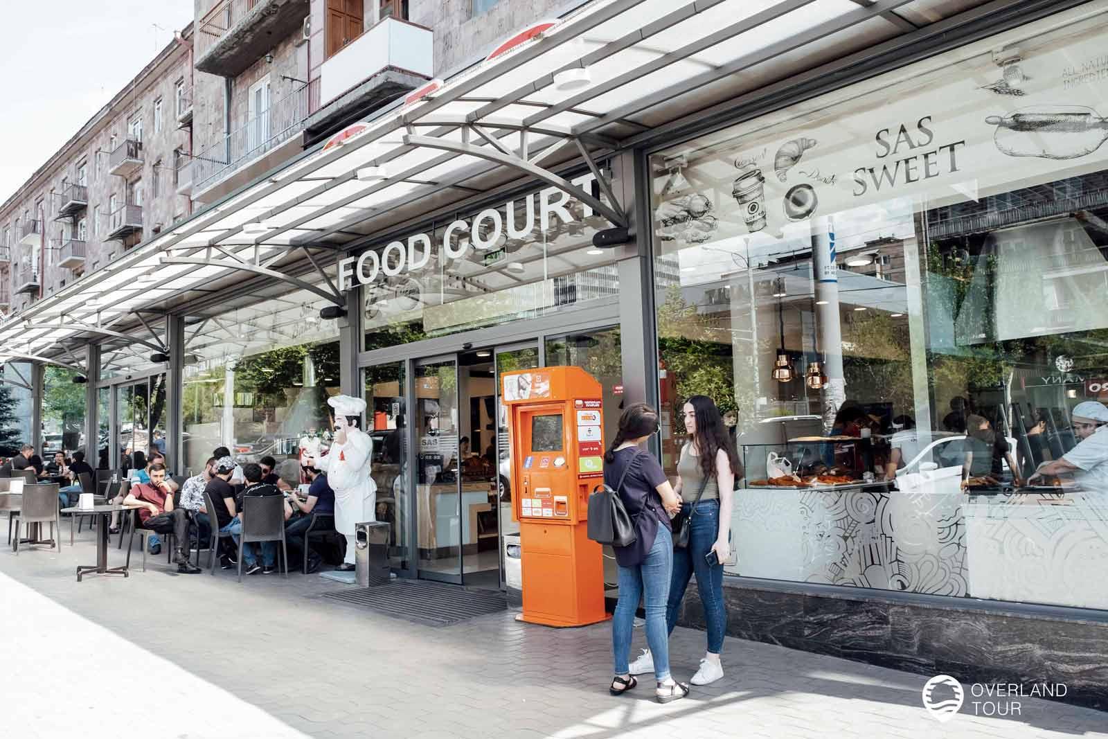 Sehenswürdigkeit Jerewan   Top 14 - Mein Essens-Tipp: SAS Food Court - Essen wo die Einheimischen essen