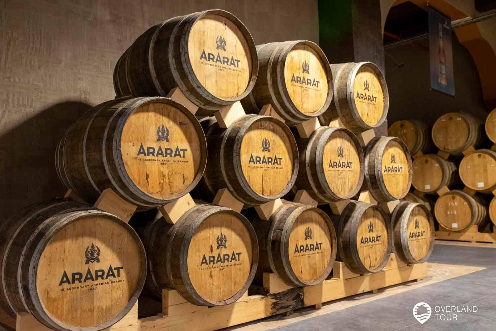 Sehenswürdigkeit Jerewan   Top 4 - Nach der Führung durch das Museum gibt es eine Brandy-Verkostung