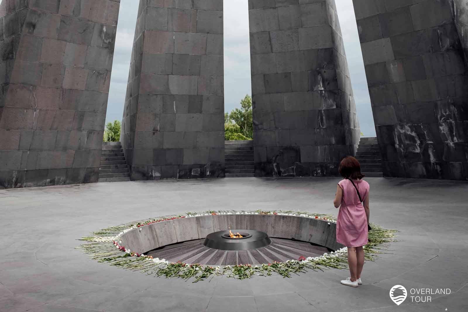 Sehenswürdigkeit Jerewan | Top 5 - Der Völkermord an den Armeniern war einer der ersten systematischen Genozide des 20. Jahrhunderts und geschah während des Ersten Weltkrieges