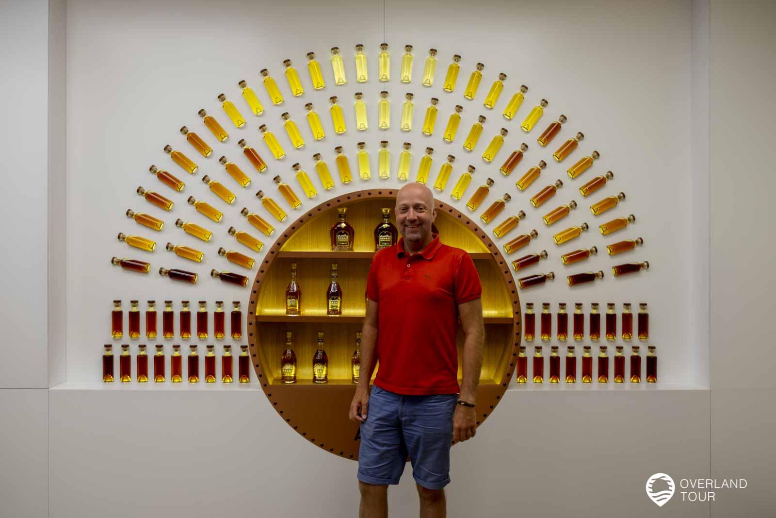 Die Yerevan Brandy Company Ararat - Am Empfang