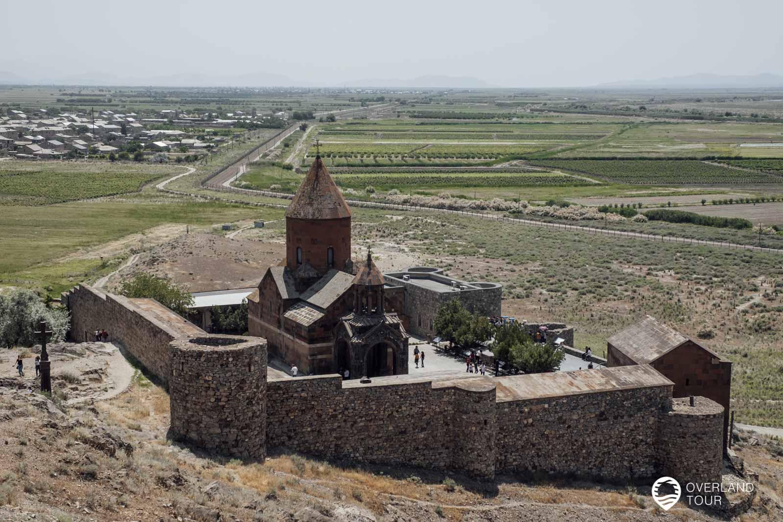 Das Kloster Chor Virap ist die Wiege der christlichen Religion in Armenien