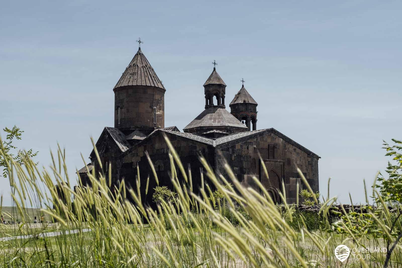 Das Highlight der Ausflugstour, besonders die Lage der Saghmosavank Kirche ist grandios