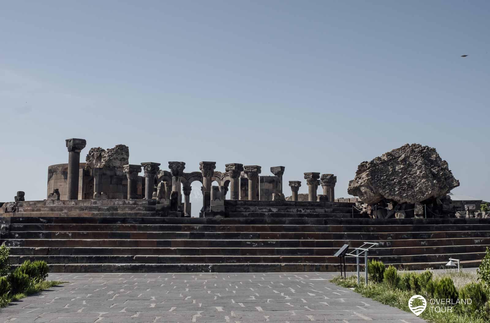 Die Ausgrabungsstätte Swartnoz wurde im Jahre 2000 in die UNESCO Weltkulturerbeliste aufgenommen