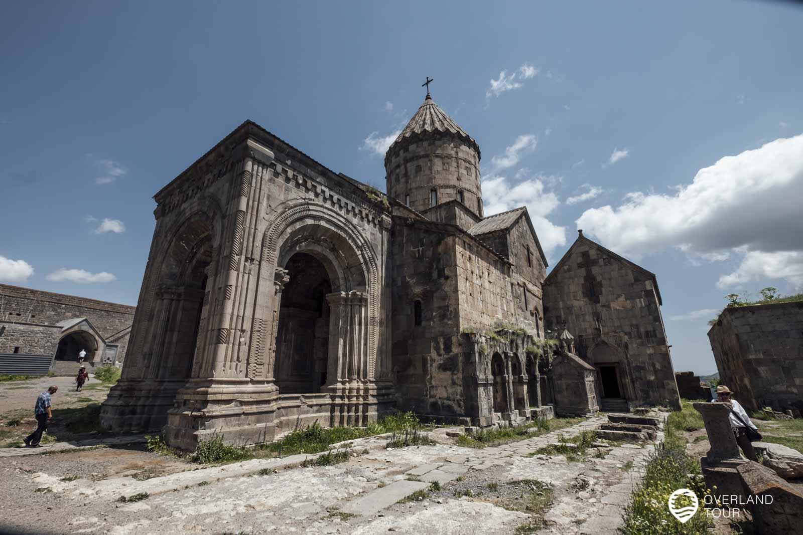 Das Kloster und die Kirche ist schon imposant
