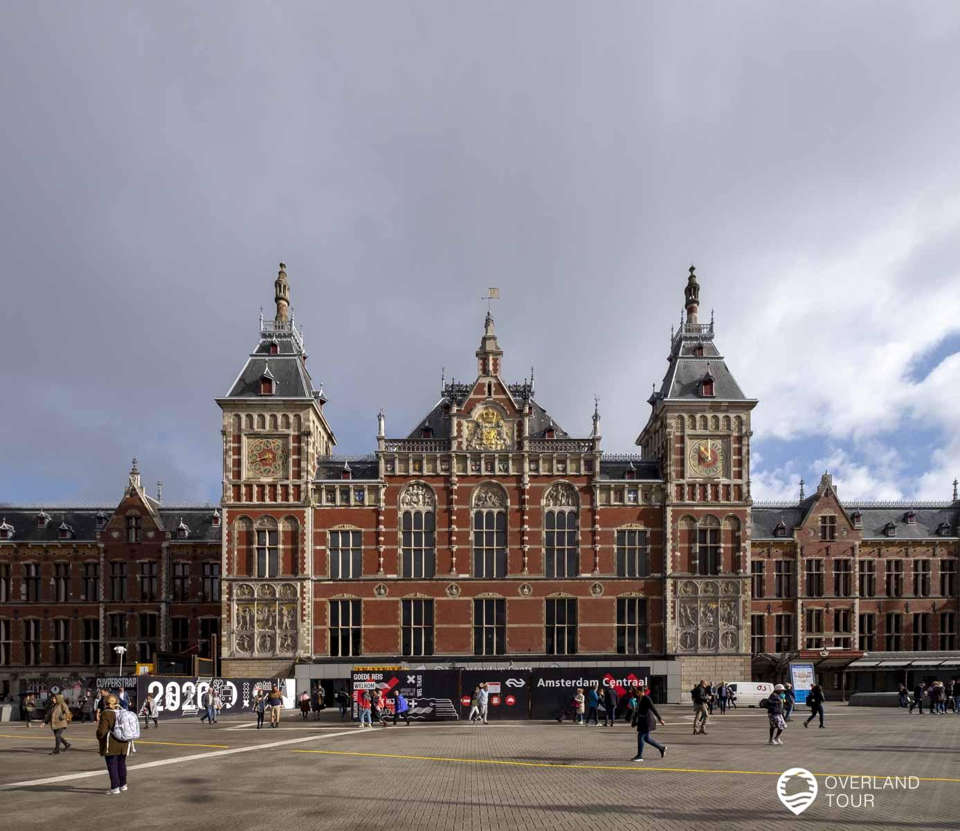 Amsterdam Centraal - Der Hauptbahnhof