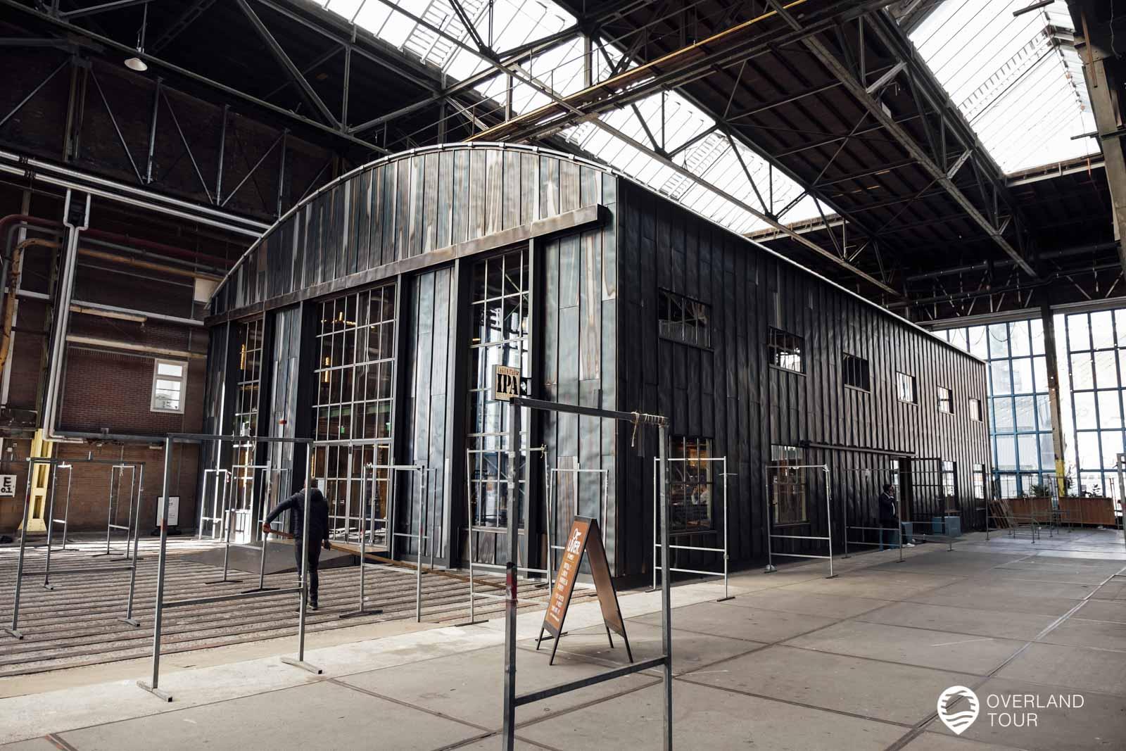 Die NDSM Werft Amsterdam