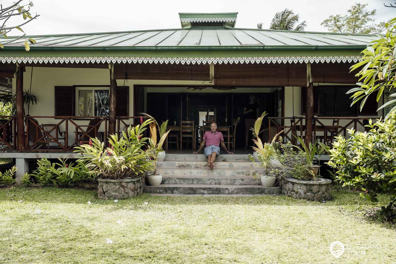 Meine Unterkunft auf Mahé - Die Villa Bambou