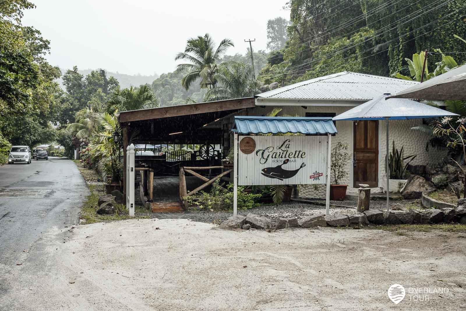Das Restaurant La Gaulette im Süden