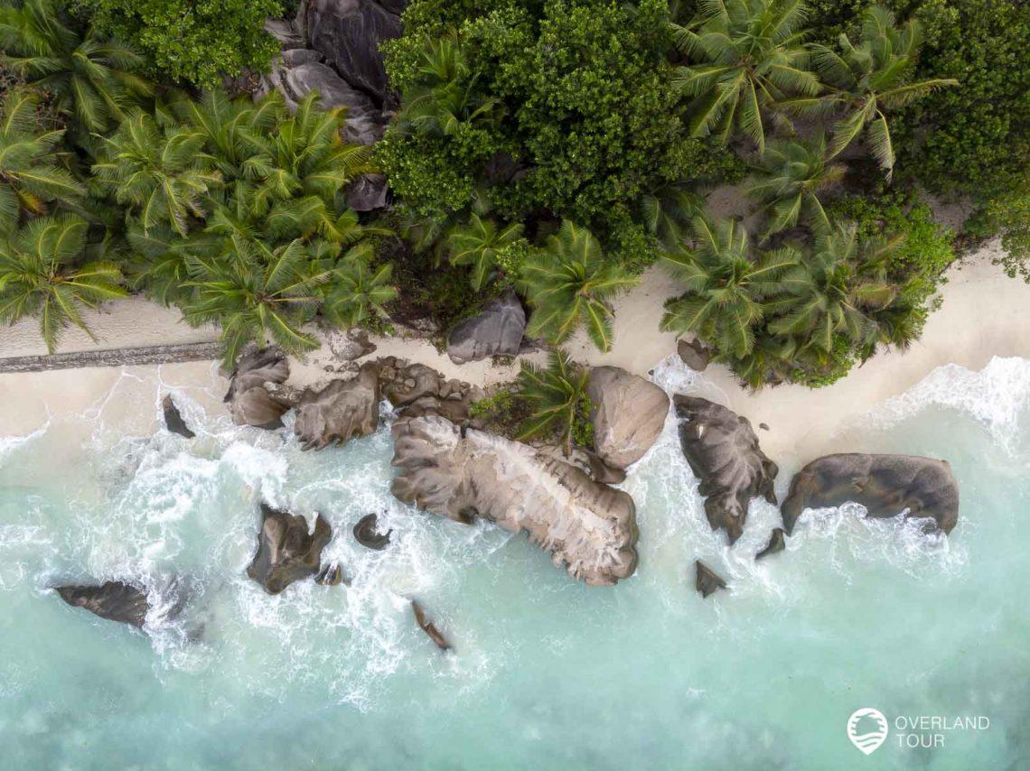 La Digue die Trauminsel der Seychellen mit dem Traumstrand Anse Source d'Argent