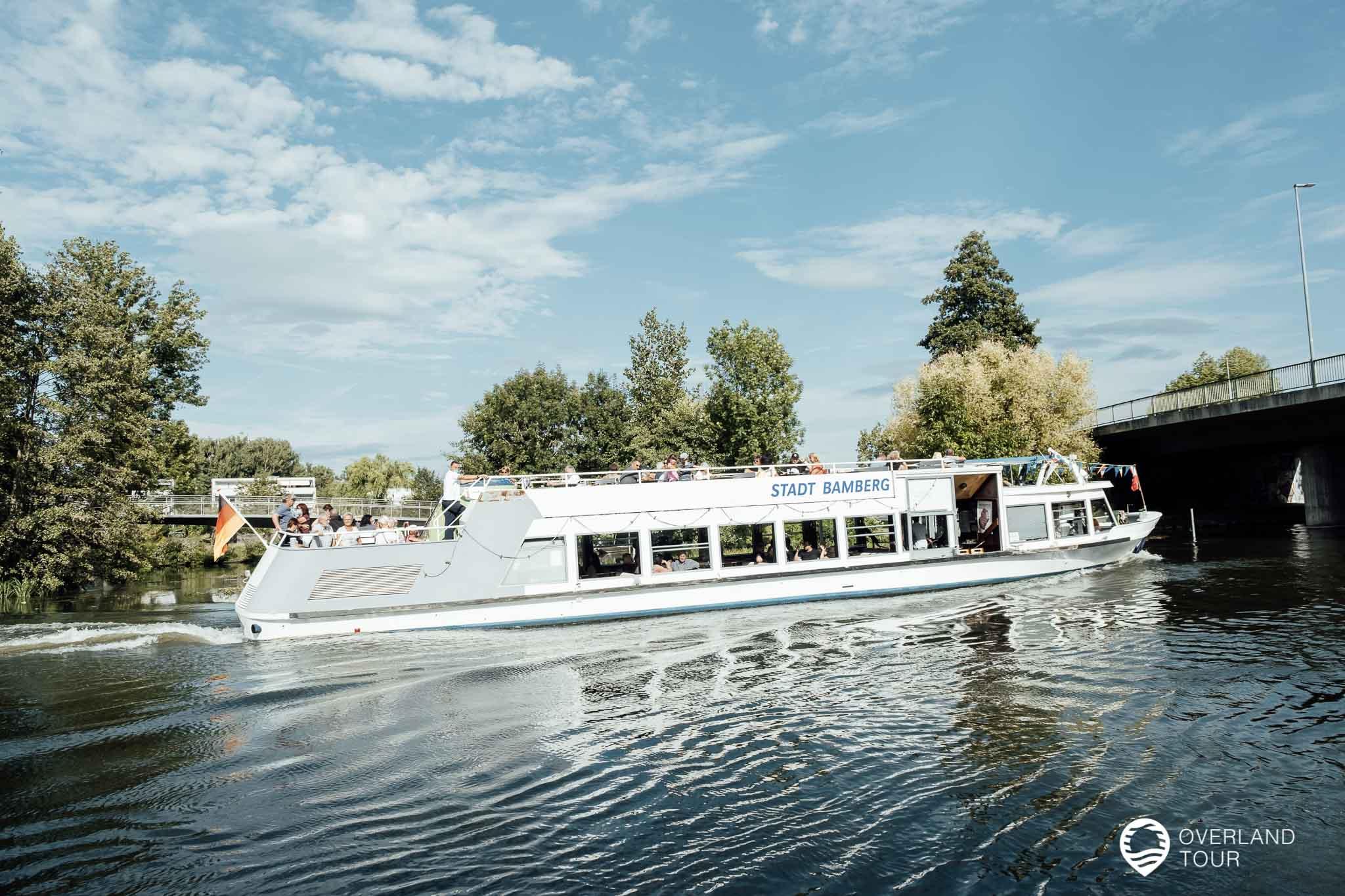Ein Schiffsausflug auf der Regnitz durch Bamberg – Eine Enttäuschung