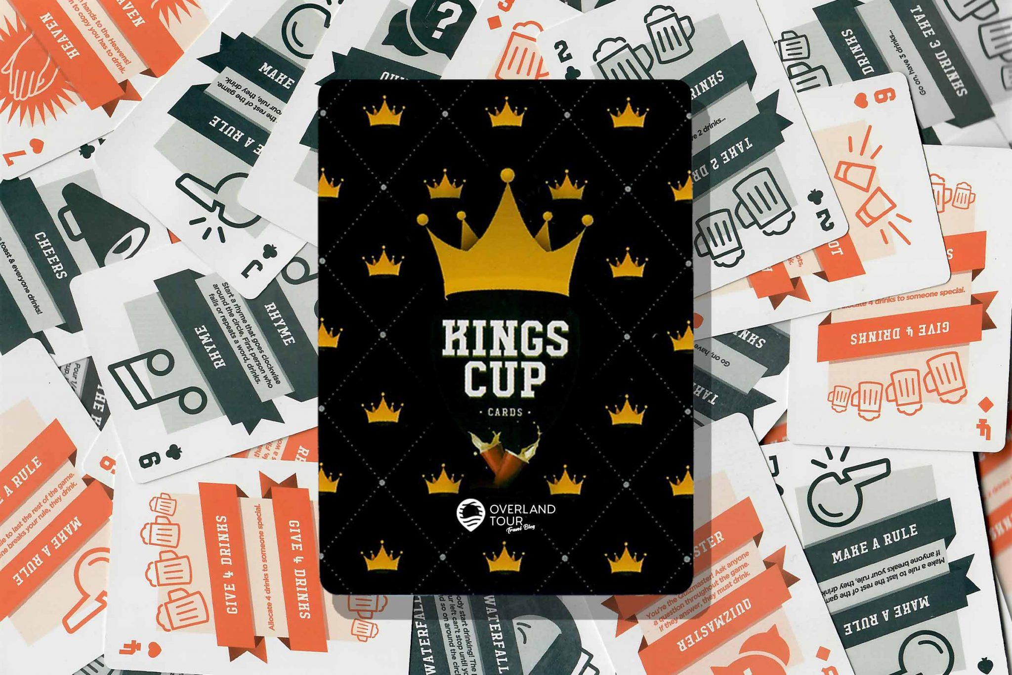 Trinkspiel Kings Cup - Regeln, Anleitung, Karten